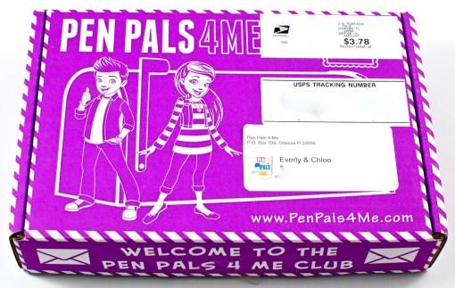 Pen Pals 4 Me box