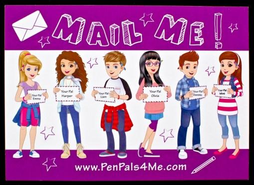 pen pals 4 me postcard