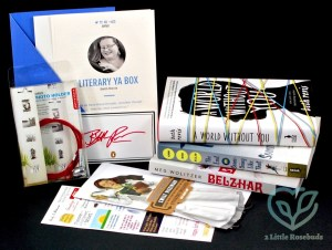 Quarterly Co. July 2016 Literary YA Subscription Box Review & Giveaway