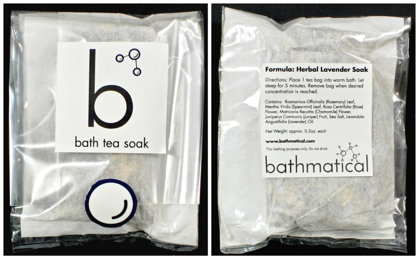 Bathmatical bath tea
