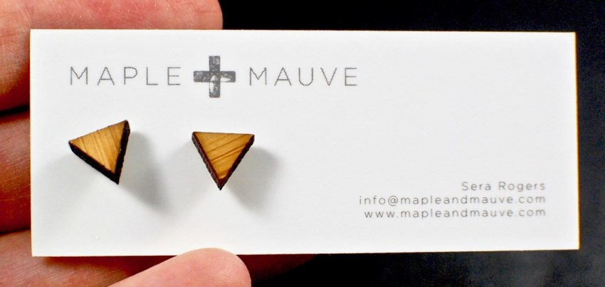 Maple + Mauve earrings
