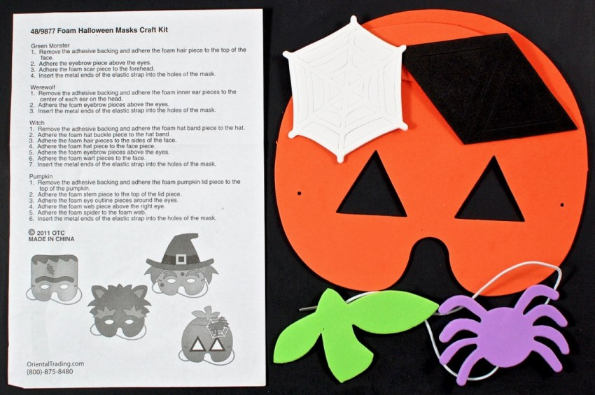 pumpkin mask craft
