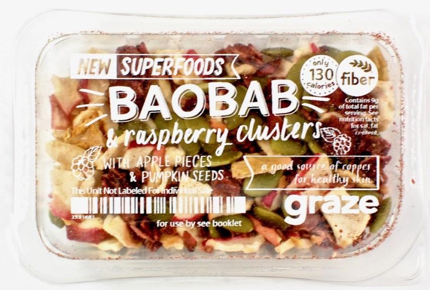 Baobab raspberry clusters