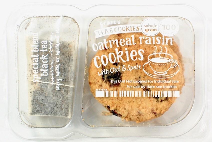 Graze cookies and tea