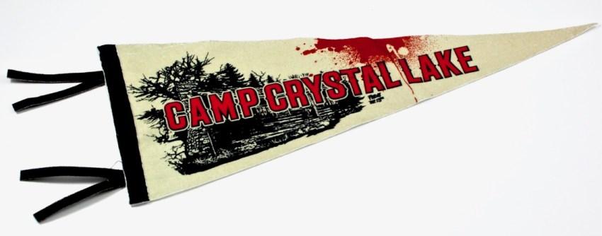 Camp Crystal Lake pennant