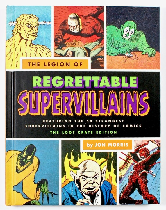 Regrettable Supervillains book