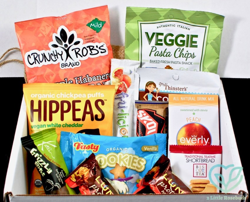 September 2016 SnackSack review