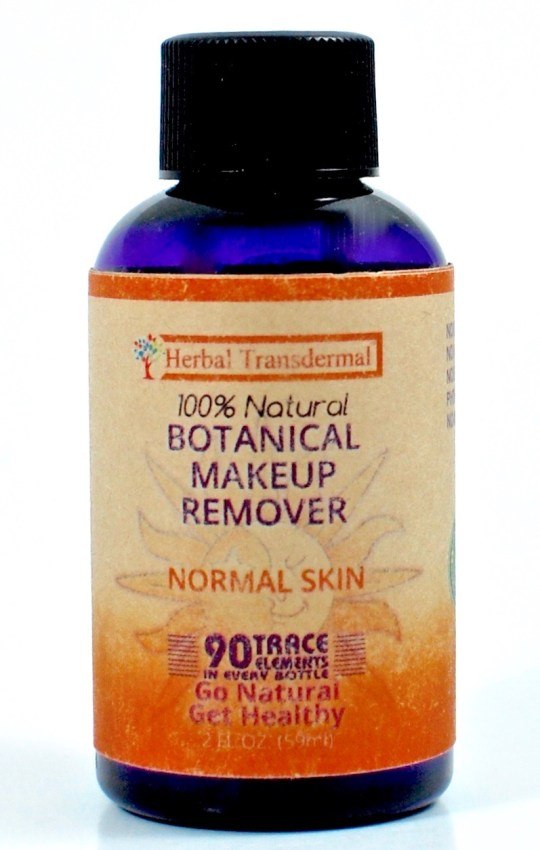 Herbal Transdermal makeup remover