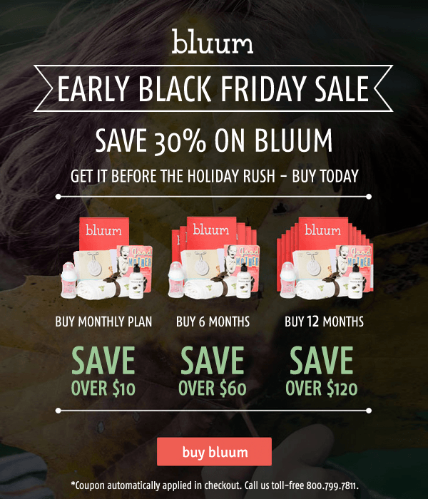 Bluum Black Friday Subscription Box Deal – Save 30%