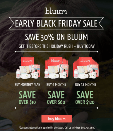 bluum black friday