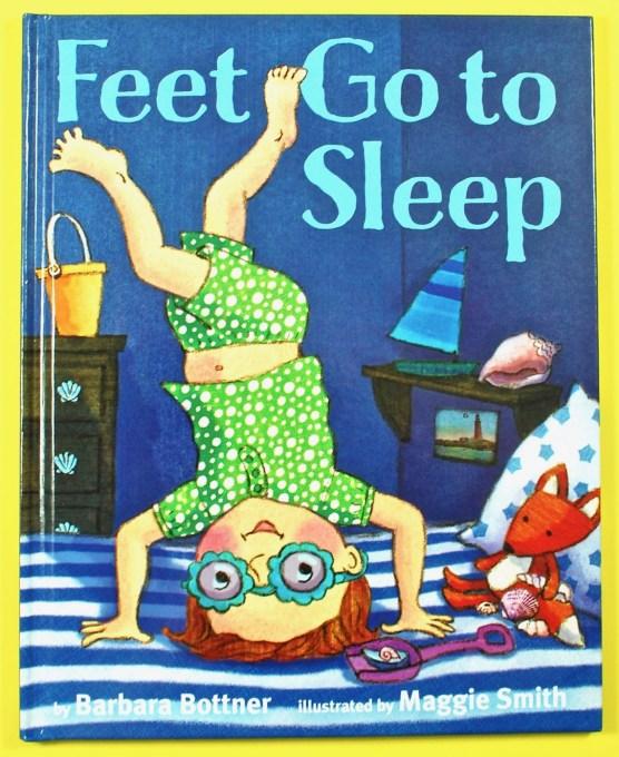 Feet Go to Sleep book