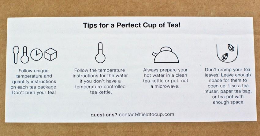 tea subscription box review