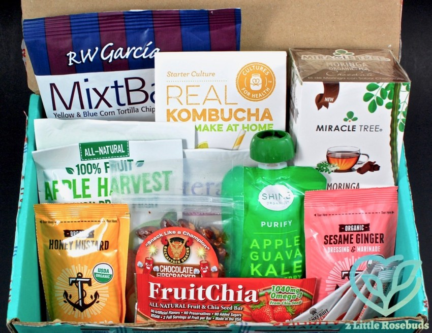 October 2016 Fit Snack review