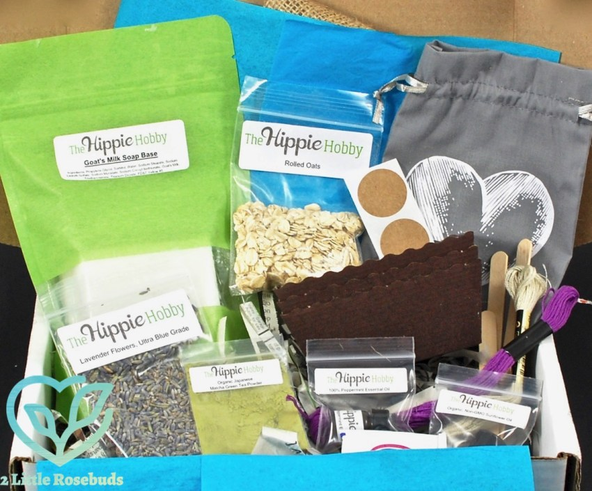 The Hippie Hobby September/October 2016 Subscription Box Review & Coupon Code