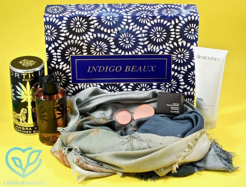 Indigo Beaux November 2016 Luxury Beauty Box Review