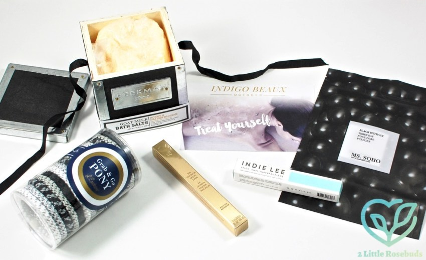 Indigo Beaux October 2016 Luxury Beauty Box Review