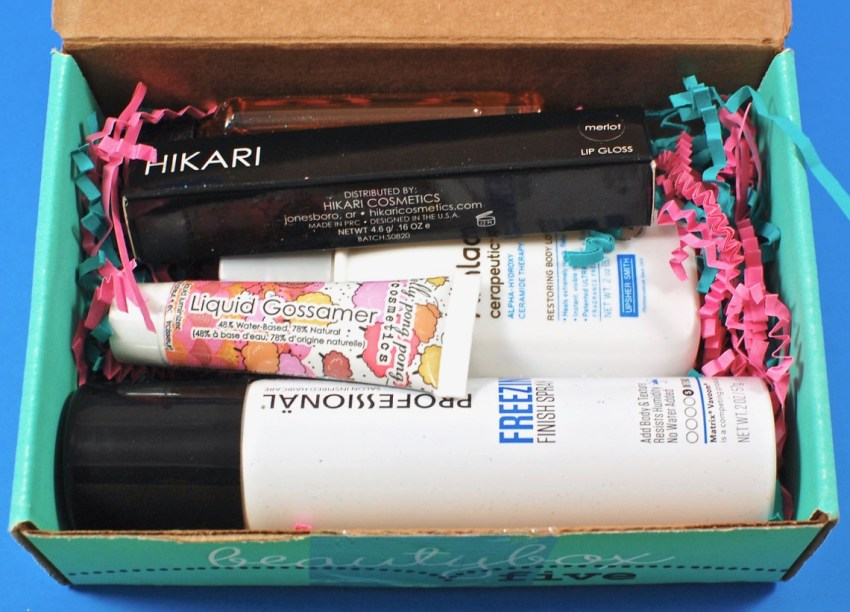 Beauty Box Five review