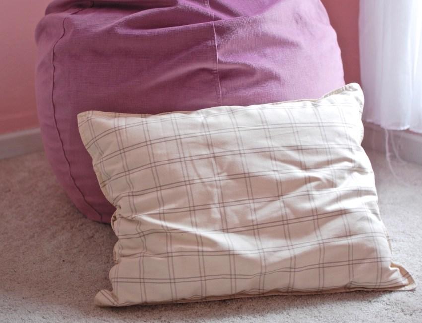 Lilypad kids pillow