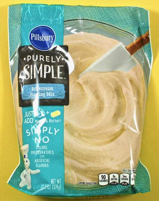 Pillsbury purely simple frosting