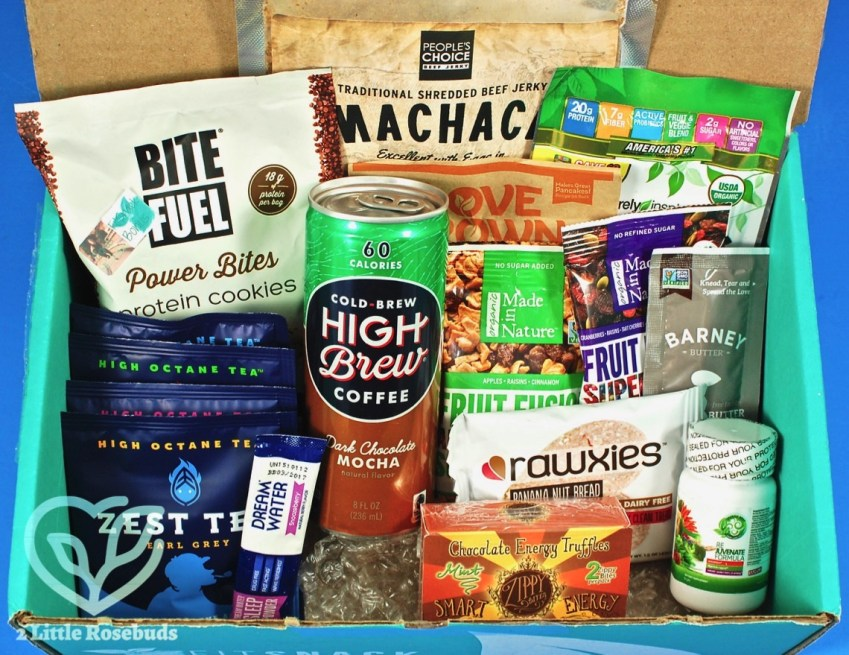 December 2016 Fit Snack review
