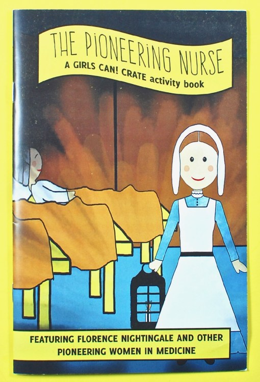 Girls Can! Crate activity book