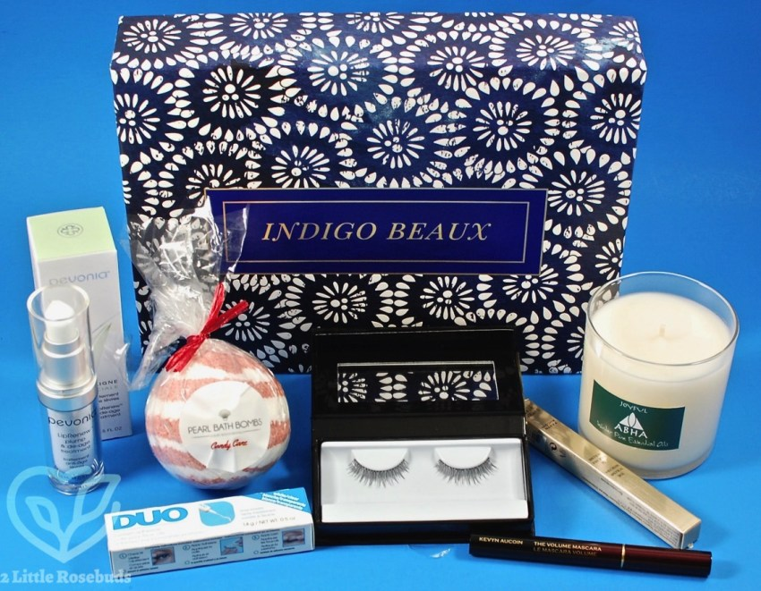 Indigo Beaux December 2016 Luxury Beauty Box Review