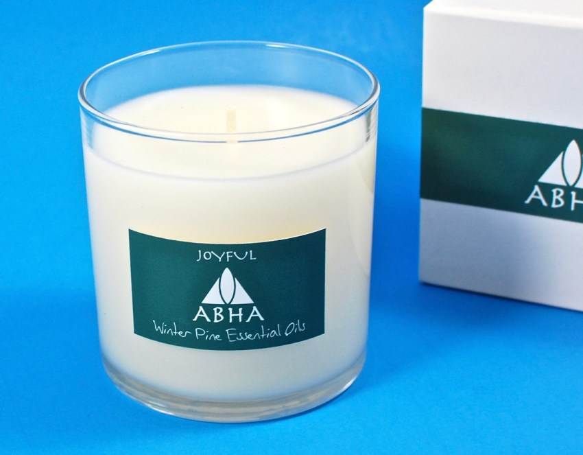 pine soy candle