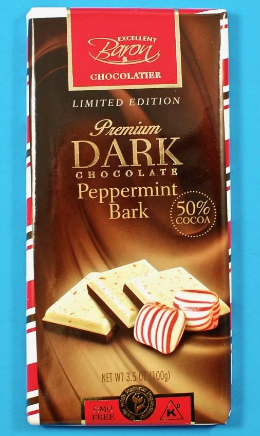 peppermint bark bar