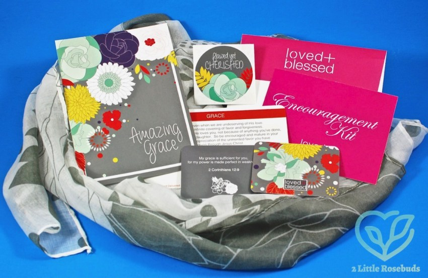 Loved + Blessed December 2016 Box of Encouragement Review