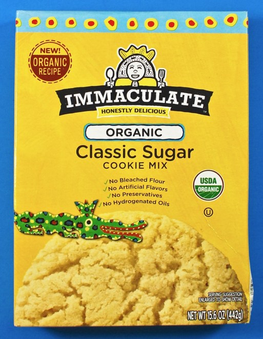 Immaculate cookie mix