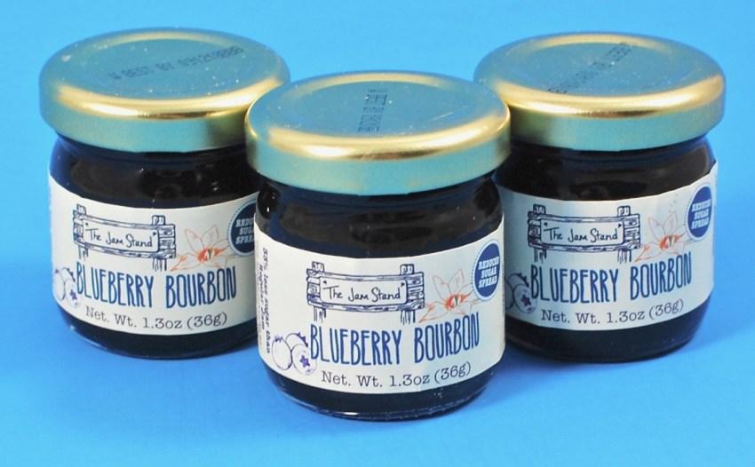 blueberry bourbon jam