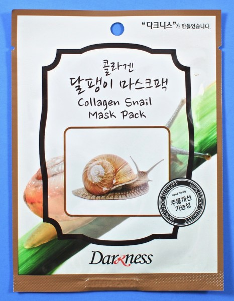 collagen snail mask