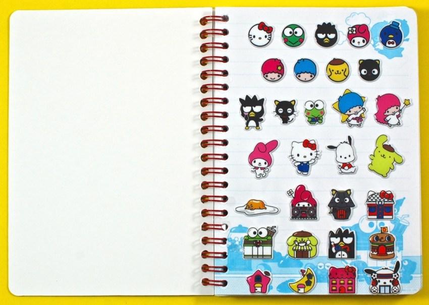 Sanrio Loot Crate notebook