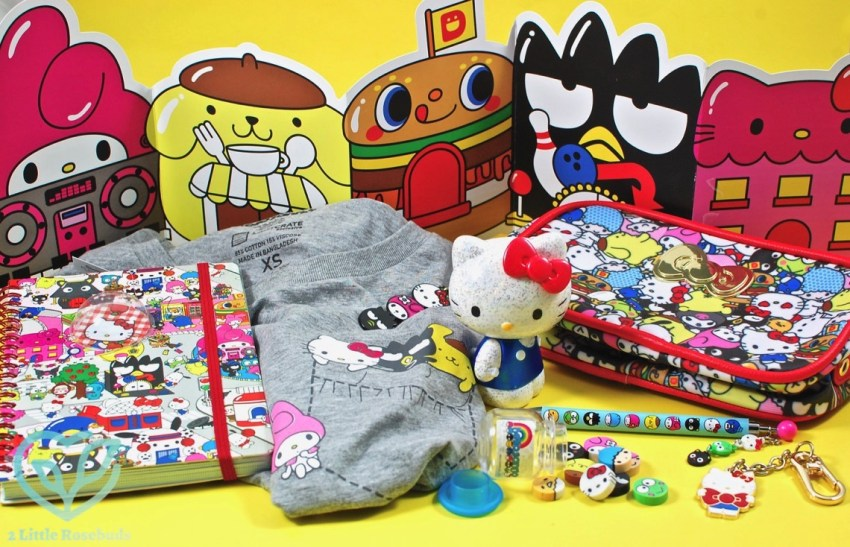 Loot Crate Sanrio Small Gift Crate December 2016 Review