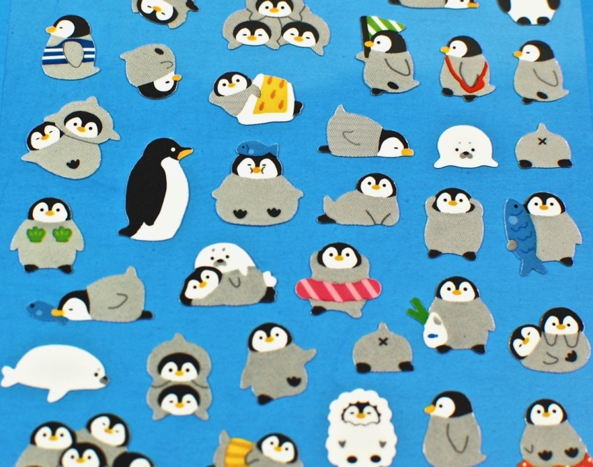 penguin stickers