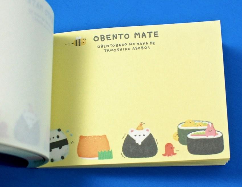 Obento Mate notebook