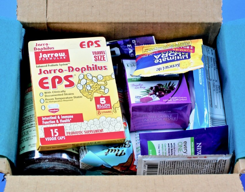 Amazon sample box contents