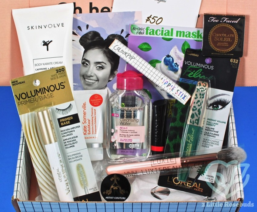 Beautycon Winter 2016 Subscription Box Review & Coupon Code