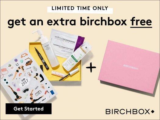 Birchbox free