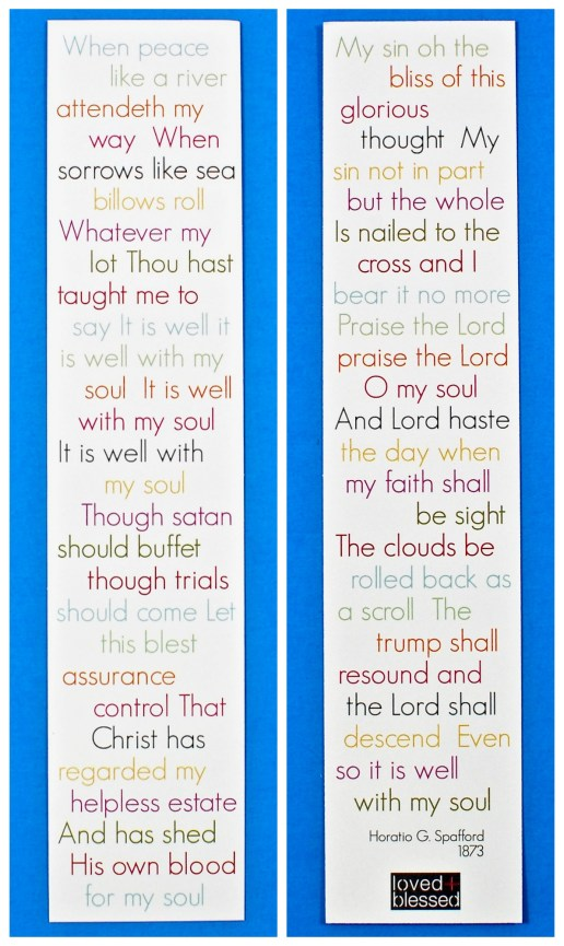 scripture bookmark