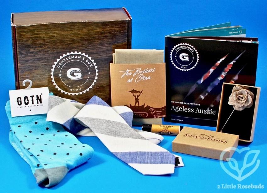 January 2017 Gentleman's Box review