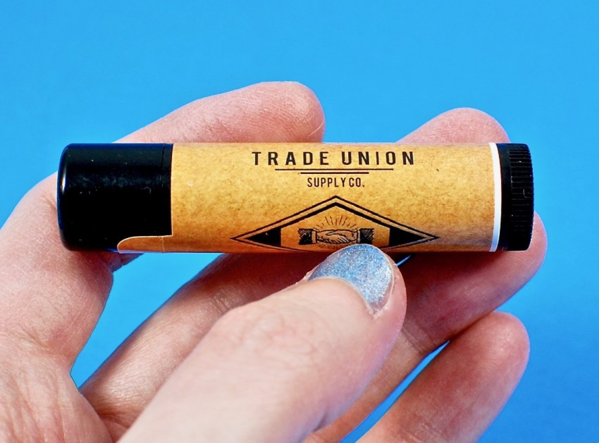 Trade Union lip balm
