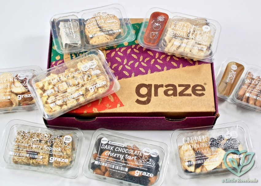 Graze January 2017 Subscription Box Review & First Box FREE