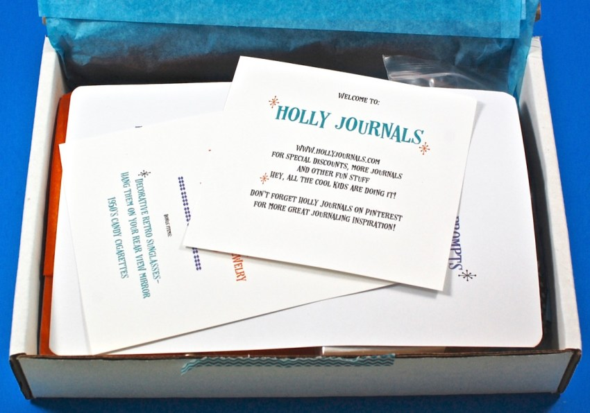 January 2017 Holly Journals review