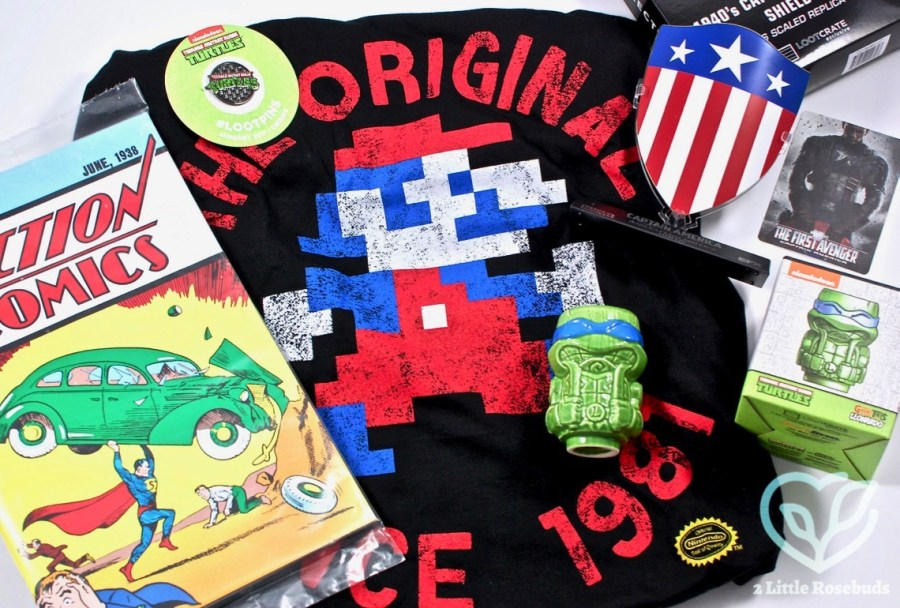 January 2017 Loot Crate review