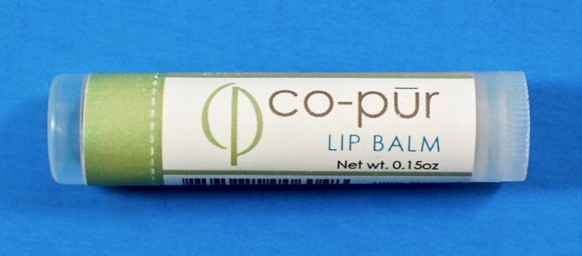 Co-Pur lip balm