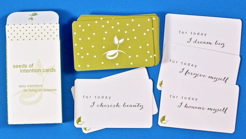 seeds of intention cards
