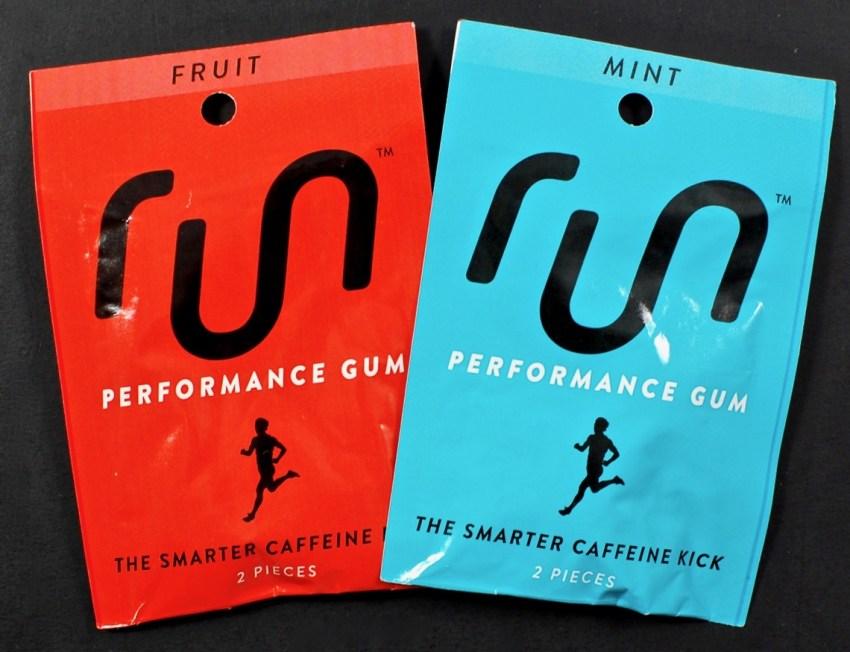 Run performance gum