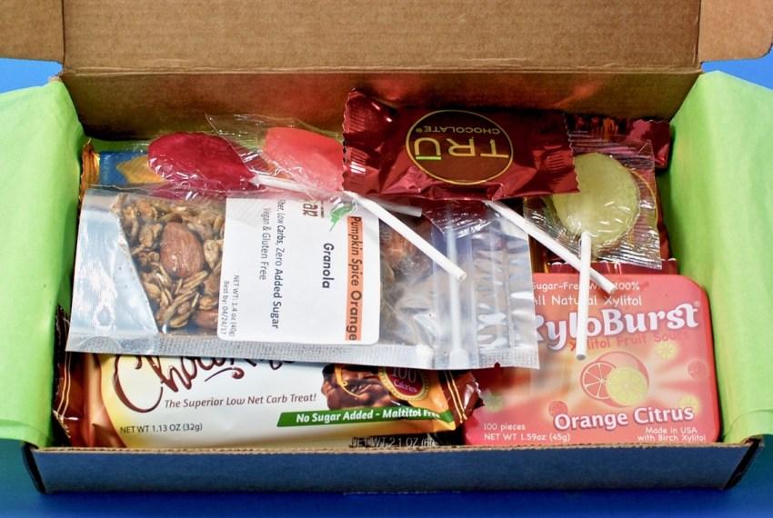 sugar free subscription box review