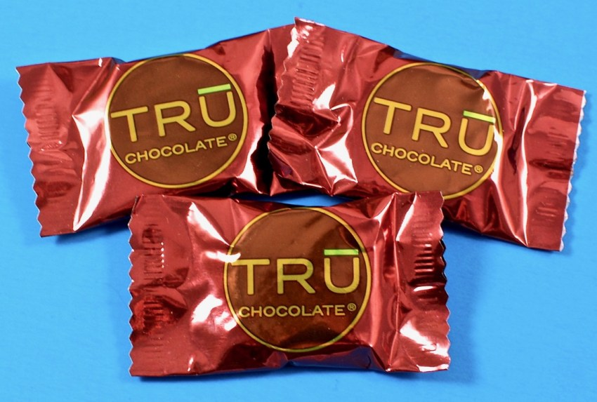 Tru chocolate wafers